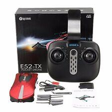 Pocket drone Camera Live Video, Eachine E52+ extra battery+Extra set propeller