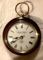 Vintage Knight & Gibbins London wall clock