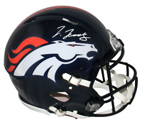 JERRY JEUDY AUTOGRAPHED DENVER BRONCOS FULL SIZE AUTHENTIC SPEED HELMET BECKETT