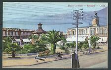 CHILE Iquique Plaza Condell  Ed. E. Mendez UNUSED postcard