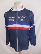 Maillot de cyclisme ADIDAS LOOK équipe de France Bastien MERLE Bleu Taille M