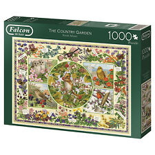 Falcon De Luxe 11131 The Country Garden 1000 Piece Jigsaw Puzzle