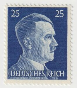 1941-1945 Germany - Hitler - New Daily Stamps - 25 Pfg Stamp