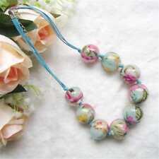 cg2462 Collier - perles avec tissu à l'intérieur