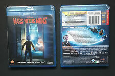 Mars Needs Moms Disney Blu-Ray/DVD Combo (2011) * Brand New * Combo Pack