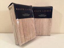 Ralph Lauren Mulholland Drive Dayton Standard Pillow Shams Pair Set Champagne