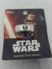 Star Wars Jedi order R2 Resistance Stainless Steel Spinner Ring New Sz 10