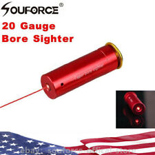 Cartridge CAL Gauge Laser Bore Sighter 20GA Shot Gun Boresighter Sight Boresight