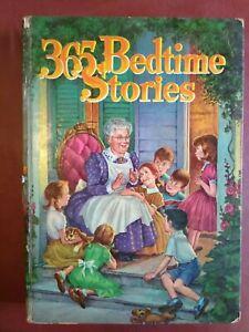 365 Bedtime Stories Whitman Publishing Nan Gilbert HC 1955 Mid Century