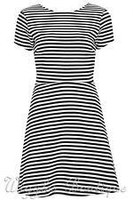 Topshop Cotton Short Sleeve Skater Dresses for Women
