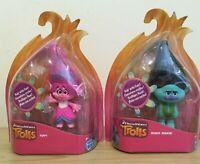 Trolls Dreamworks Movie Action Figures Poppy Branch Dolls Toys Bundle Job Lot
