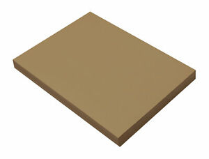 SunWorks Heavyweight Construction Paper, 9 x 12 Inches, Light Brown, Pack of 100
