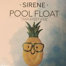 NIB FOUR FOOT PINEAPPLE POOL FLOAT BY SIRENE