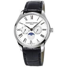 Frédérique Constant Slimline Men's FC-260WR5B6 Quartz Moonphase 38.5mm Watch