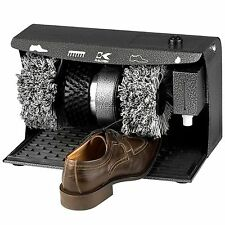New Electric Shoe Shine Machine Cleaning Kit Polisher Buffer Brush No Tax