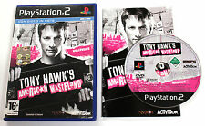 Sony PLAYSTATION 2 PS2 TONY HAWK'S AMERICAN WASTELAND 2005 Activision SLES-53535