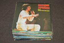 RENE SIMARD 30 LP LOT VINYL ALBUM COLLECTION René Nathalie 25 Ans/En Concert +