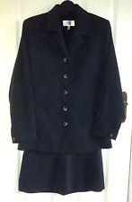 Women's Oasis Navy Skirt Suit Size 10