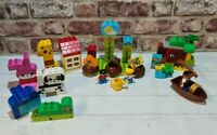 Lego Duplo Bundle inc 10573, 10819, 10512. Jakes Treasure, First Garden, Animals