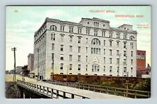 Minneapolis MN, Pillsbury Mills, Vintage Minnesota Postcard