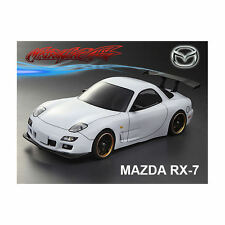 MATRIXLINE RX7 clear body 190mm avec accessoires (non peinte) - PC201404