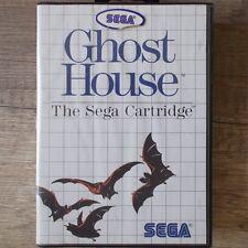 Sega Master System ► Ghost House ◄ módulo & OVP   Top