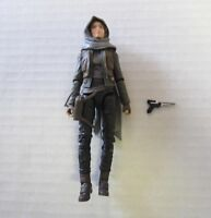 "Sergeant Jyn Erso Action Figure 6"" Scale Jedha Star Wars Black Series b"