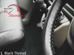 FOR HINO 500 SERIES MODEL-BLACK STEERING WHEEL COVER DIFF STITCH COLORS