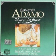 Salvatore Adamo - 24 Grandes Exitos en Castellan [New CD]