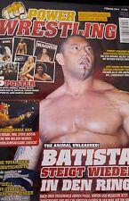 Power Wrestling Februar 02/2014 WWE TNA + 6 Poster (Summer Rae, Natalya, Punk)