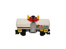 Lego 9V + RC Eisenbahn TRAIN 7939 Waggon Tankwaggon OCTAN CITY WAGON
