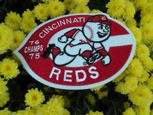 Cincinnati REDS  Big Reds  machine 1975-76  super size  patch