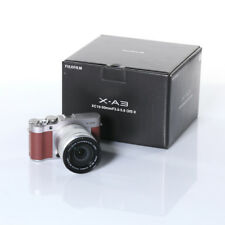 Systemkamera Fujifilm X-A3 Kit inkl. XC 16-50 mm Kit, Braun, Full HD Video, WiFi