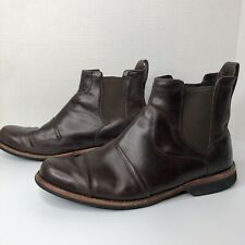 Men's Timberland Earthkeepers Brown Leather Chukka Boots Size 11W