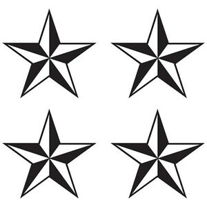 CUSTOM NAUTICAL STAR CAR HOME DECORATION WINDOW VINYL DECAL STICKER (ST-03)