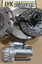 JAGUAR X TYPE 2.2 TDCI 6SP LUK DUAL MASS FLYWHEEL AND CLUTCH, CSC BOLTS, STARTER