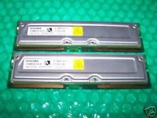 RDRAM: 1GB TOSHIBA PC800-45 RAMBUS memory  (2x 512MB)