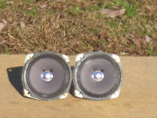 """Two Vintage 4 1/4"""" Full Range Speakers In good Working & Cosmetic Condition!"""