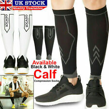 Calf Compression Socks Sleeve Leg Support Varicose Running Shin Knee Pain Relief