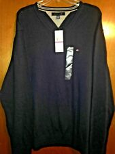 ****NWT NEW 2XL TOMMY HILFIGER SPORT VNECK CREW RUGBY PullOver Dress Polo Shirt
