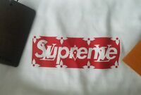 Supreme x Louis Vuitton Box Logo T-shirt LV Tee Mens Sz M
