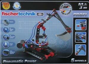 Pneumatic Power Construction Building Set Learning Fischertechnik Profi 533874