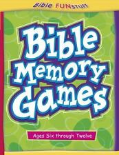 Bible Funstuff: Bible Memory Games by Cook Communications Staff (2004,...