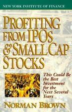 Profiting from IPO's and Small Cap Stocks-ExLibrary