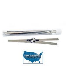 Dental Polishing Strips Stainless Steel 4 mm Medium GRIT (one side) 12/BOX