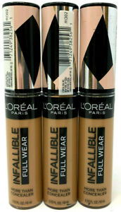 (3) Loreal Infallible Full Wear More Than Concealer New & Sealed 410 - Almond