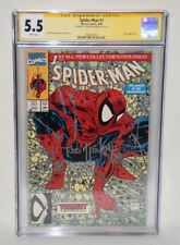 TODD MCFARLANE SIGNED AUTOGRAPHED MARVEL SPIDER-MAN #1 TORMENT CGC 5.5