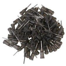 100pcs 1/2 Inch Blunt Dispensing Blunt Needle Tips 16 Gauge Luer Lock Gray