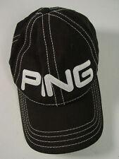 PING golf baseball cap hat G10 Rapture V2 black white embroidered adjustable