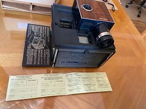 Vintage Bell & Howell  991B vintage slide cube projector with 3 cubes Used